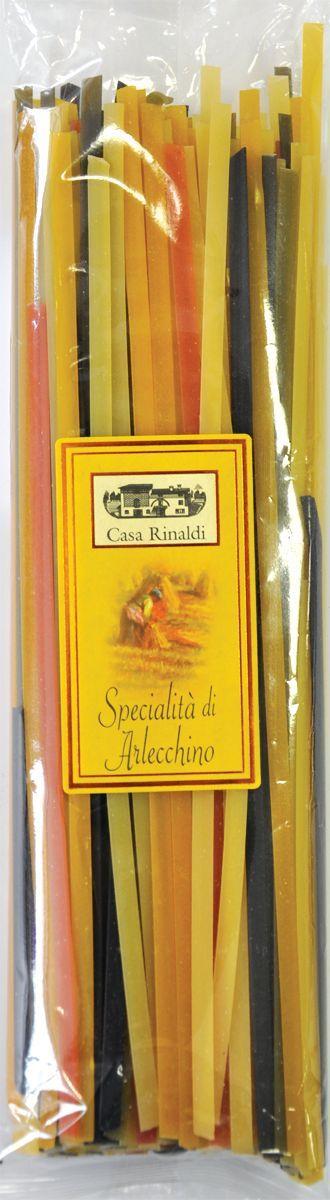 Casa Rinaldi Паста цветная Тальятелле Арлекино (лапша), 500 г