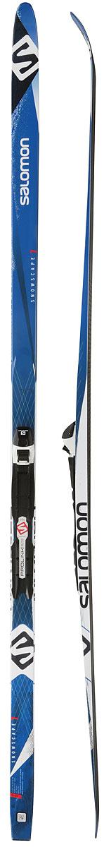 Беговые лыжи Salomon Snowscape 7 Pm Plk Auto, с креплениями, 174 см, размер M (55-75 кг). L402079PM цена