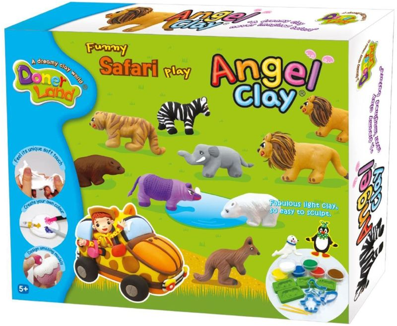 Angel Clay Масса для лепки Funny Safari