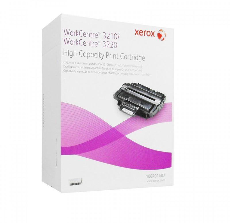 Картридж Xerox 106R01487, черный, для лазерного принтера, оригинал