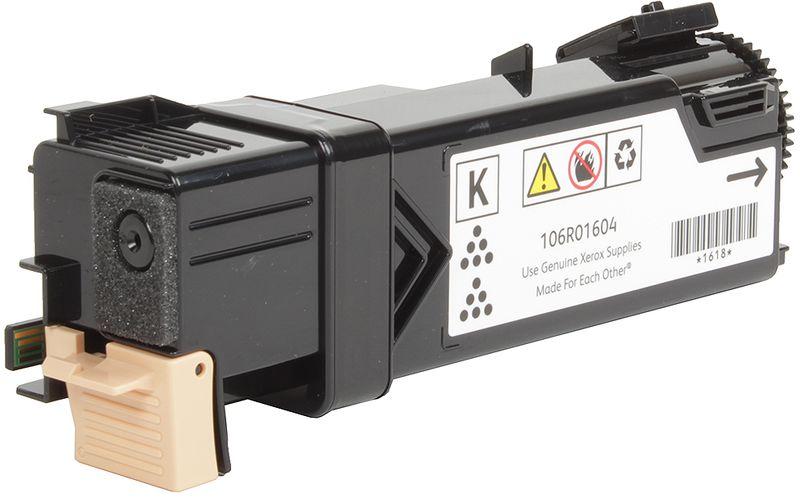 Картридж Xerox 106R01604, черный, для лазерного принтера, оригинал