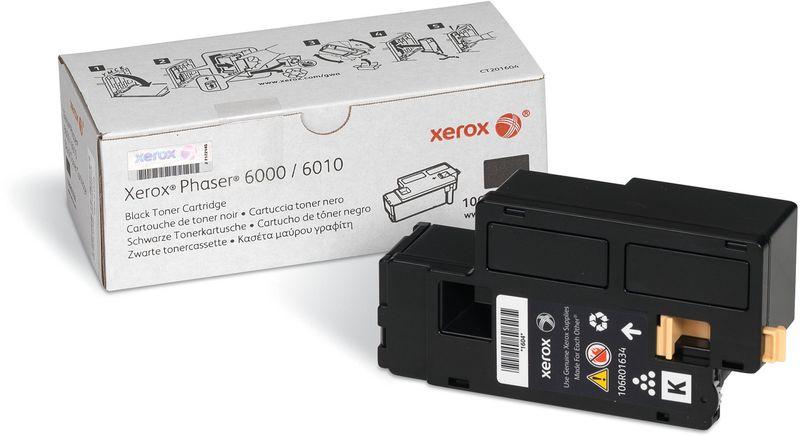 Картридж Xerox 106R01634, черный, для лазерного принтера, оригинал