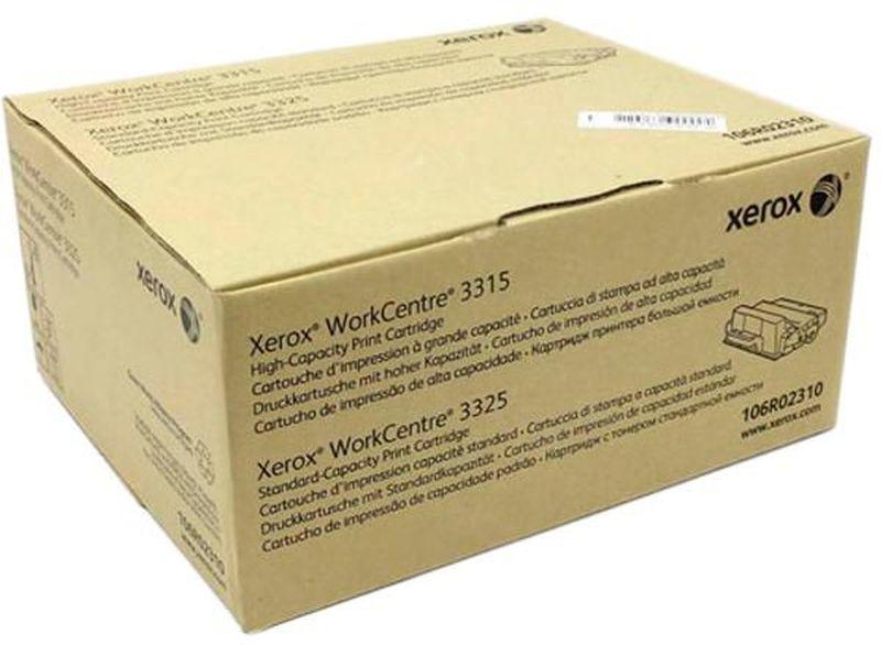 Картридж Xerox 106R02310, черный, для лазерного принтера, оригинал