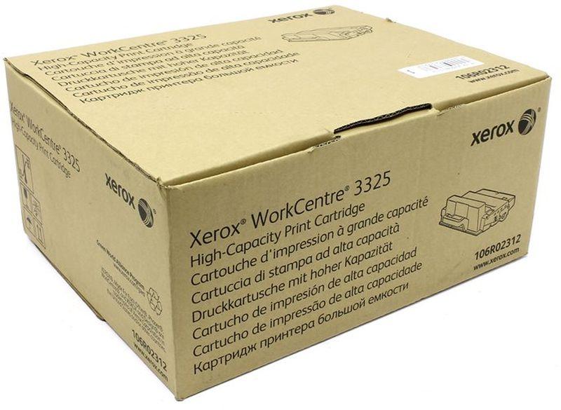 Картридж Xerox 106R02312, черный, для лазерного принтера, оригинал