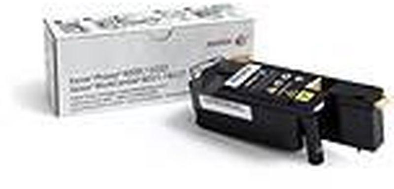 Картридж Xerox 106R02762, желтый, для лазерного принтера, оригинал картридж xerox 106r02762 для phaser 6020 6022 workcentre 6025 6027 желтый 1000стр