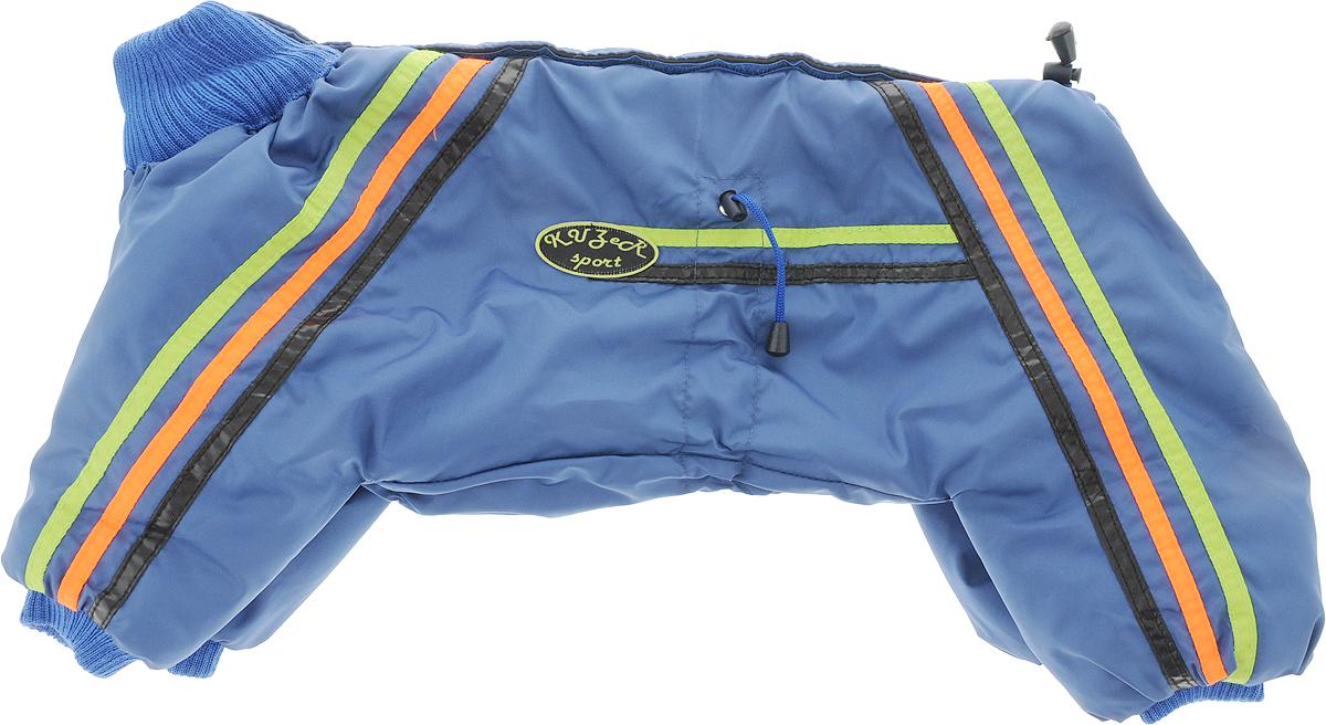 """Комбинезон для собак Kuzer-Moda """"Спринт"""", зимний, унисекс, цвет: синий. Размер XL"""