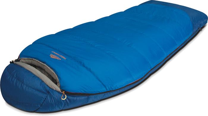 Спальный мешок Alexika Forest Compact, цвет: синий, правосторонняя молния. 9231.01051