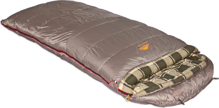 цена на Спальный мешок-одеяло Alexika Canada plus, цвет: серый, левосторонняя молния. 9266.01072