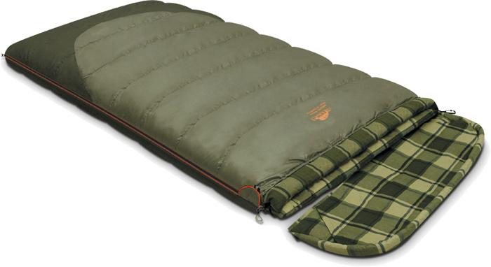 цена на Спальный мешок-одеяло Alexika Siberia Wide Transformer, цвет: болотный, оливковый, левосторонняя молния. 9255.01072
