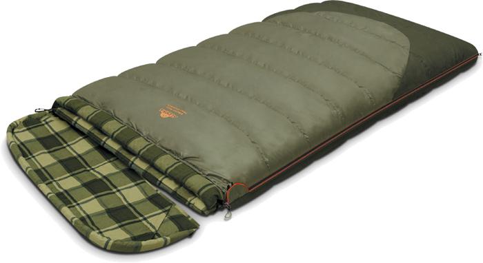 цена на Спальный мешок-одеяло Alexika Siberia Wide Transformer, цвет: серый, правосторонняя молния. 9255.01071
