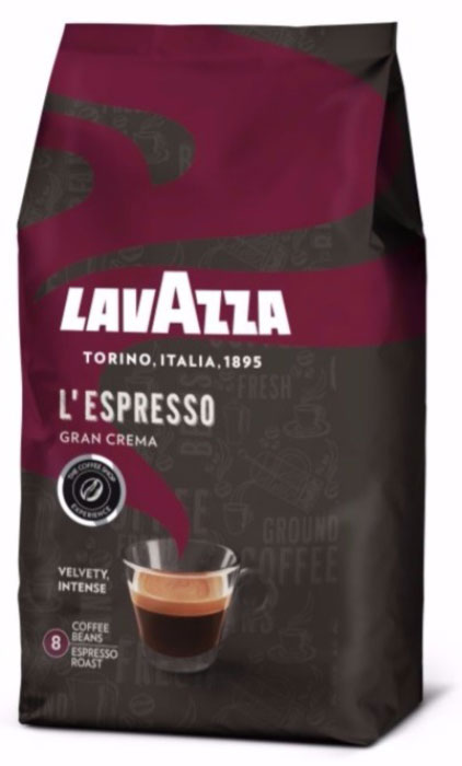 Lavazza Gran Crema кофе в зернах, 1 кг цены