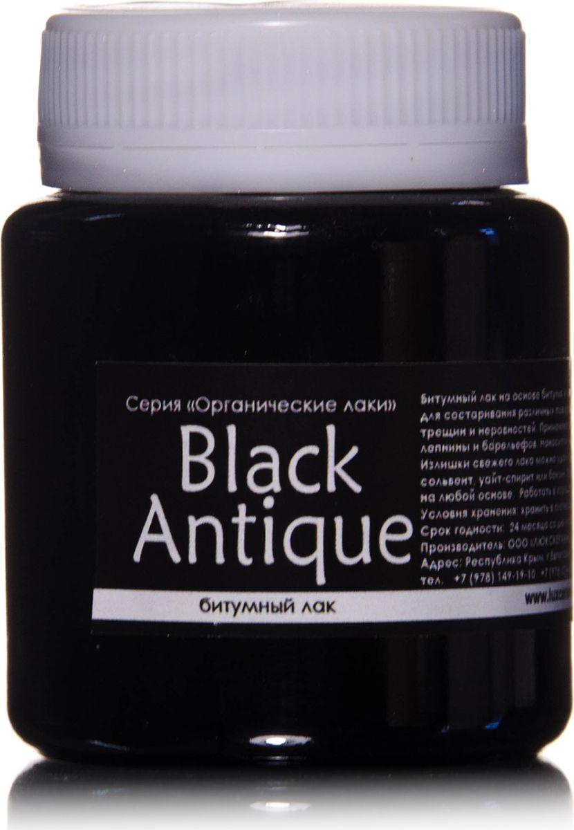 Luxart Лак для творчества битумный BlackAntique 80 мл стоимость