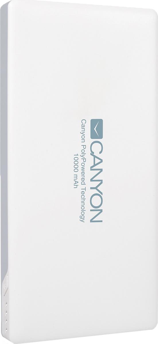 Фото - Canyon CNS-TPBP10W, White внешний аккумулятор (10000 мАч) аккумулятор
