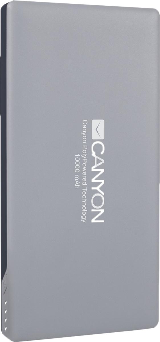 Canyon CNS-TPBP10DG, Dark Gray внешний аккумулятор (10000 мАч)