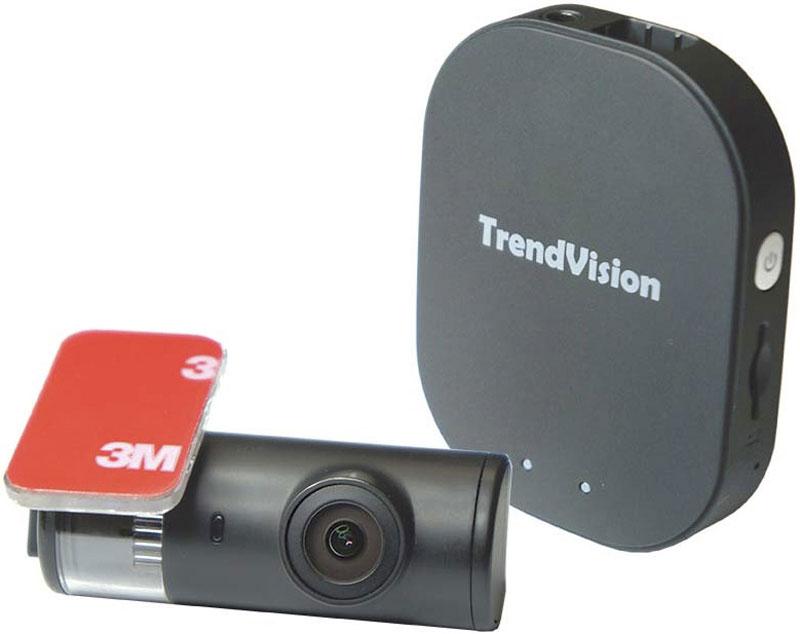 TrendVision Split, Black видеорегистратор