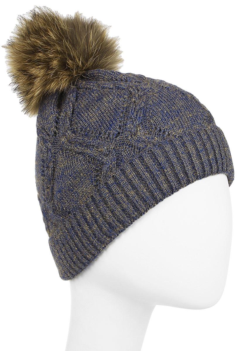 Шапка Stilla шапка женская jane s story цвет синий 1018 размер универсальный