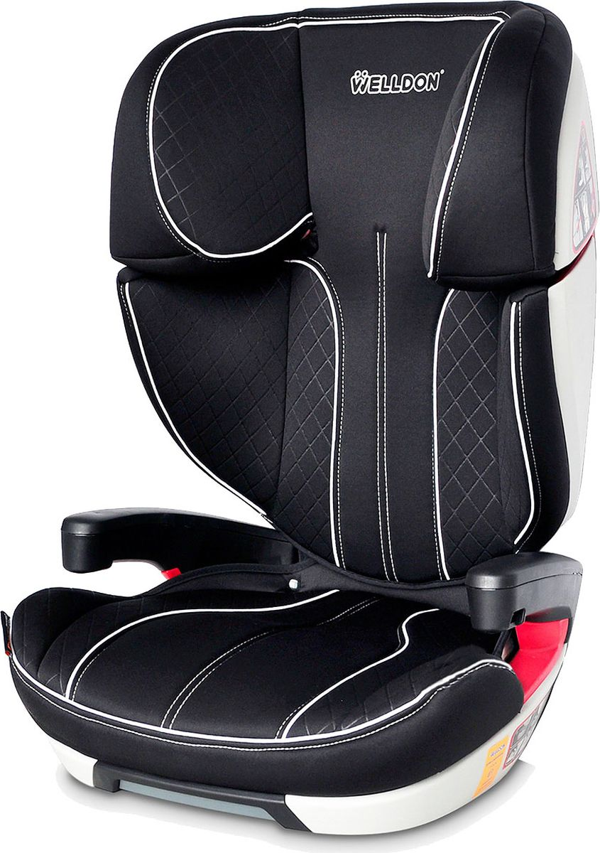Автокресло Welldon Cocoon Travel от 15 до 36 кг, BS09-B, черный автокресло welldon royal baby side armor