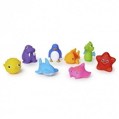 Munchkin Игрушки для ванны Морские животные 8 шт