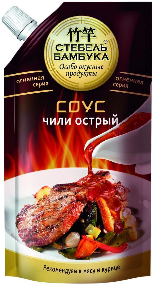 Стебель Бамбука соус чили острый, 300 гБ0002224Классическое сочетание перца-Чили и томатов. Особо вкусно с жареной курицей и мясом. Можно добавлять при приготовлении блюд для придания остроты. Обостряет ощущения.