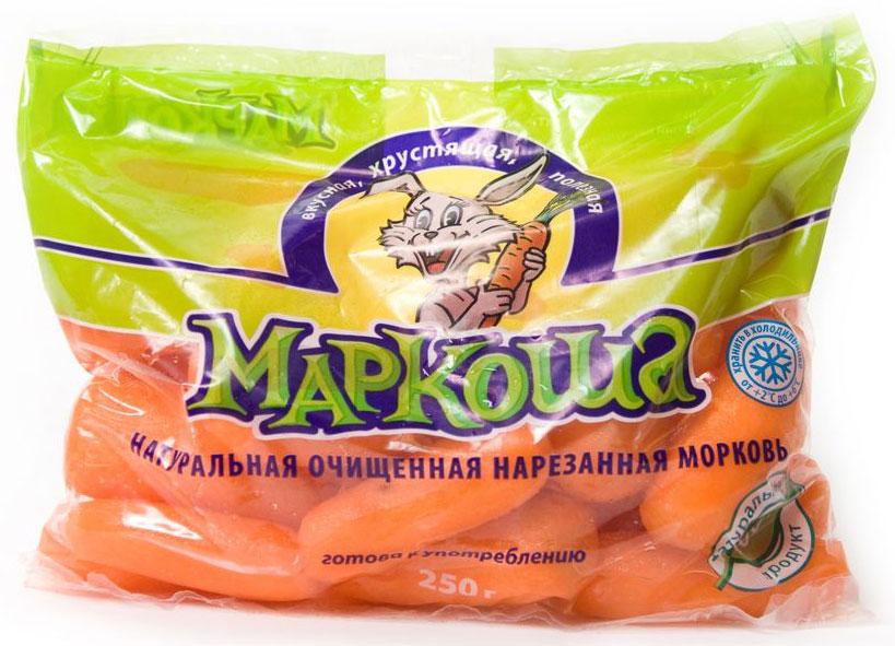 Маркоша Морковь очищенная, 250 г Морковь Маркоша — это сладкая...