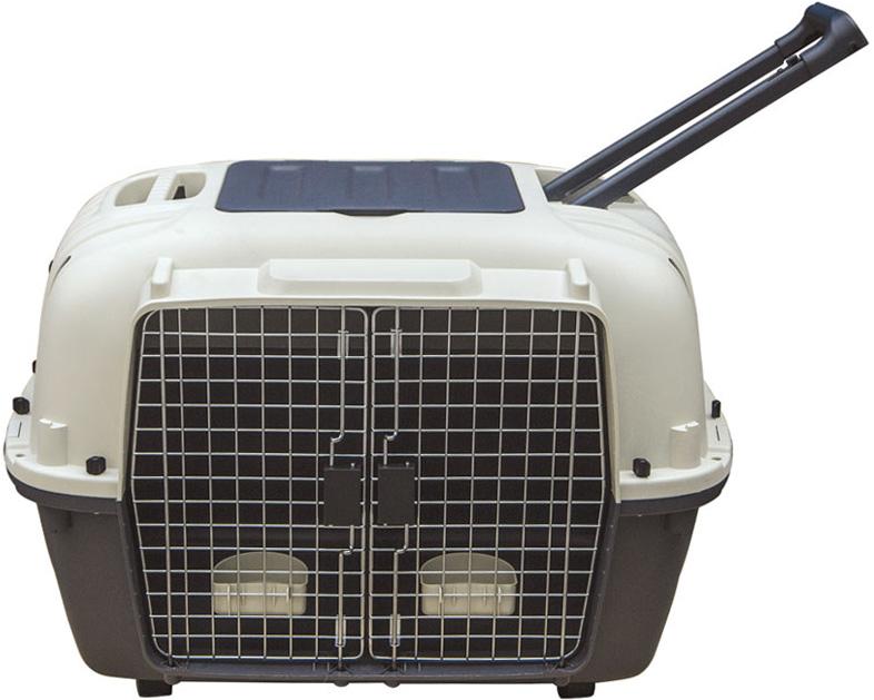 Переноска для животных Triol Premium Double, 88 х 58,1 x 64,7 см переноска для животных triol 46 5х36 5х27 5 см