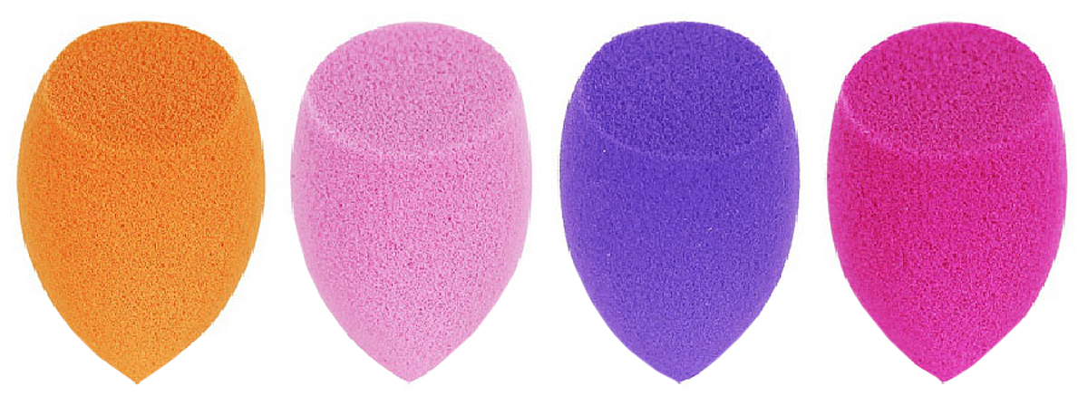 Real Techniques Набор из 4 мини спонжей 4 Miracle Mini Complexion Sponges недорого