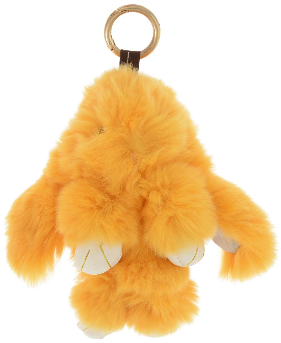 Vebtoy Брелок Пушистый кролик цвет оранжевый vebtoy брелок игрушка пушистый кролик цвет красный 22 х 16 х 9 см