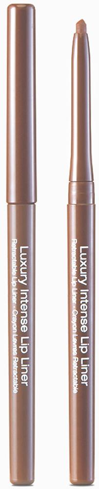 Kiss New York Professional Автоматический контурный карандаш для губ Luxury Intense, Brown, 0,31 г kiss new york professional контурный карандаш для губ lip liner pencil red 1 1 г
