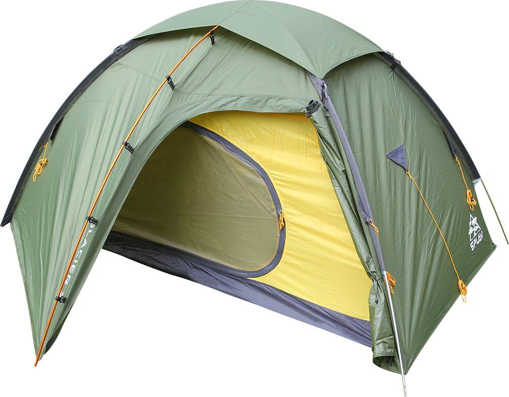 Палатка Сплав Glacier 2, двухместная, цвет: зеленый
