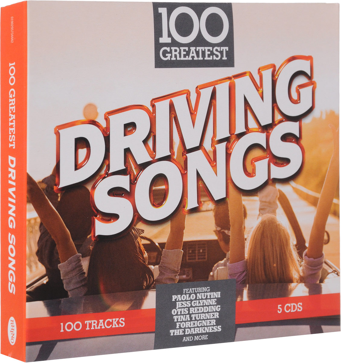 100 Greatest Driving Songs (Special Price Limited Time) (5 CD)