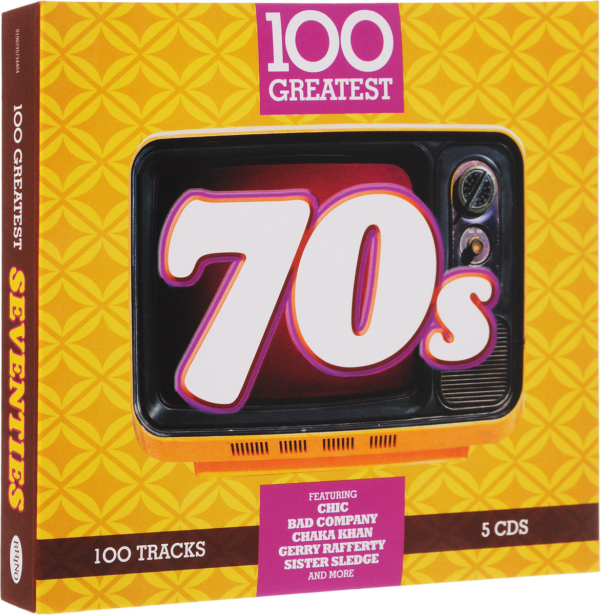 100 Greatest 70s (Special Price Limited Time) (5 CD)