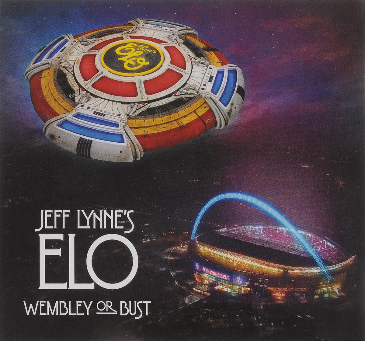 Electric Light Orchestra Jeff Lynne's ELO. Wembley Or Bust (2 CD) electric light orchestra electric light orchestra jeff lynne s elo alone in the universe