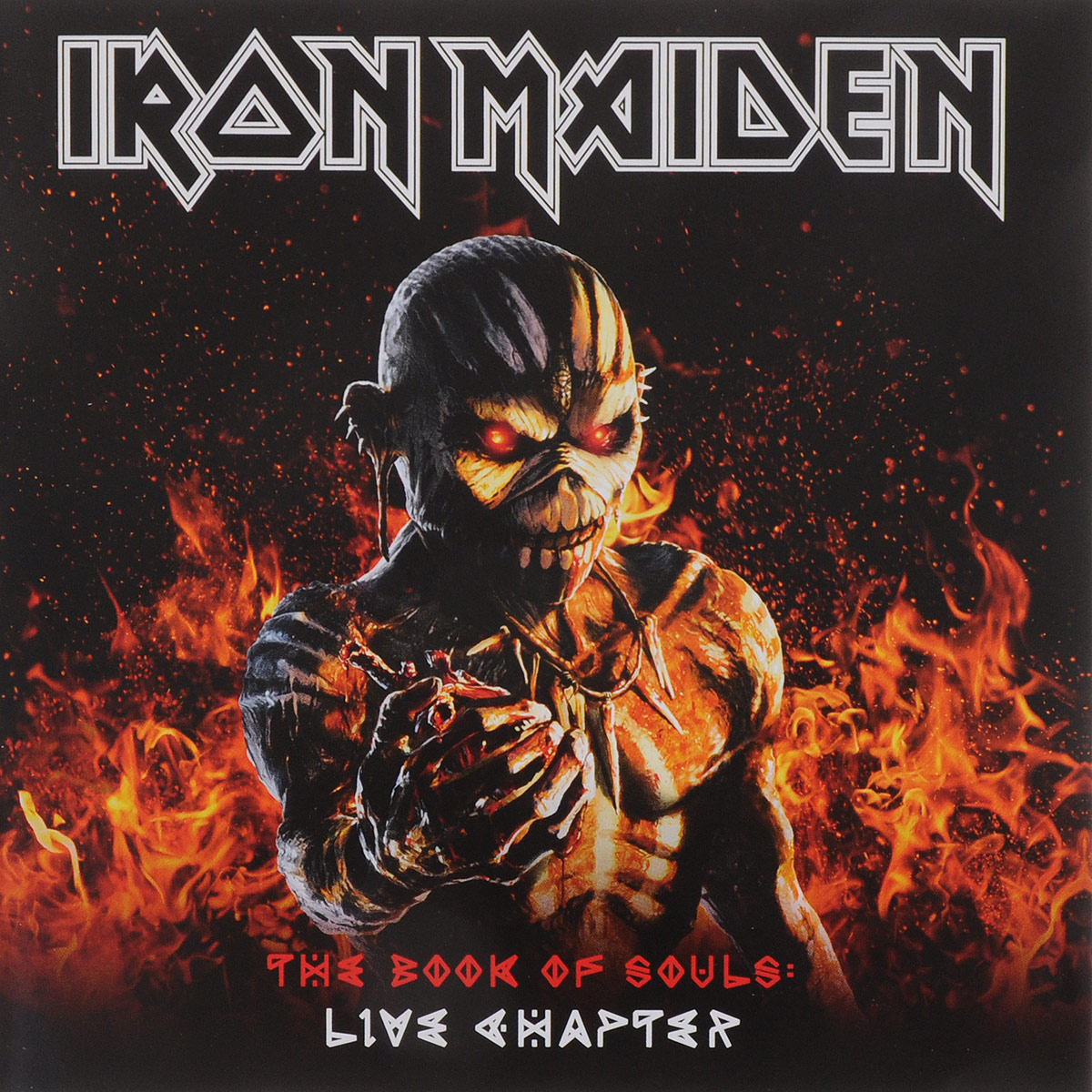 Iron Maiden Iron Maiden. The Book Of Souls Live (2 CD) iron maiden iron maiden the book of souls 3 lp