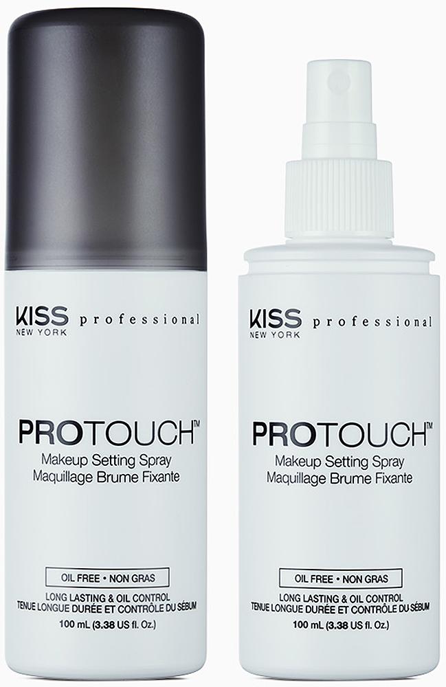 Kiss New York Professional Спрей-фиксатор макияжа Protouch, 100 мл