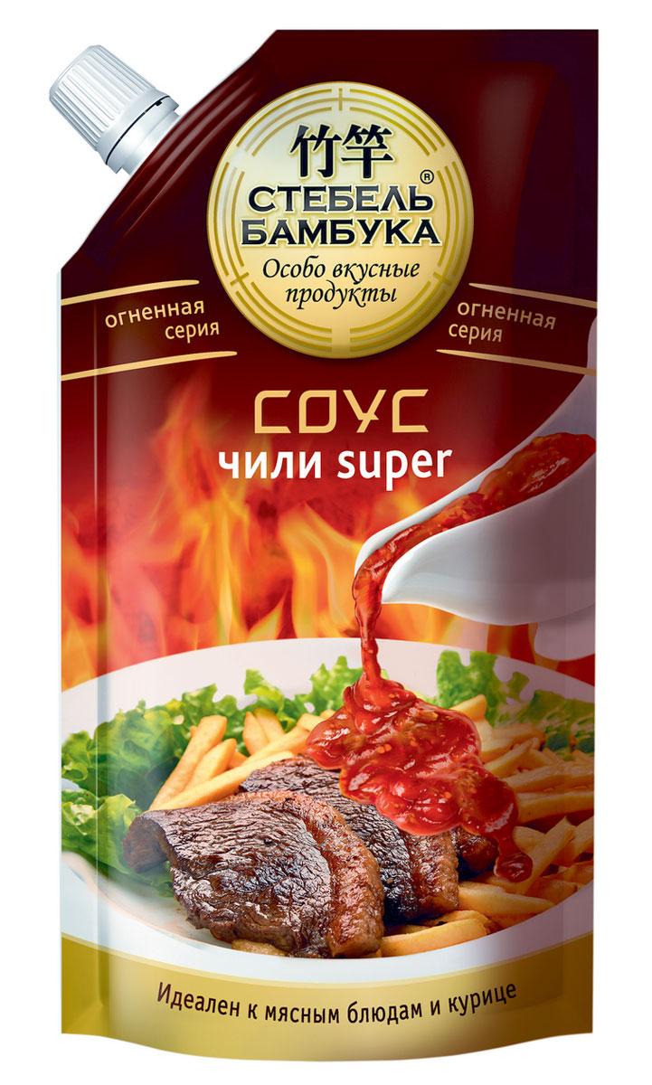 Стебель Бамбука соус чили Super, 300 г цена в Москве и Питере
