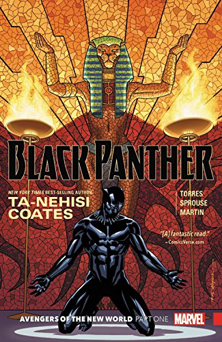 Black Panther Book 4. Avengers of the New World Part 1 Marvel