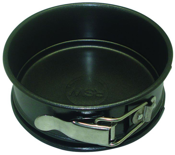 Форма для запекания Regent Inox Easy, круглая, разъемная, диаметр 12 см форма д кекса regent easy 16х12 5 см круглая разъемная