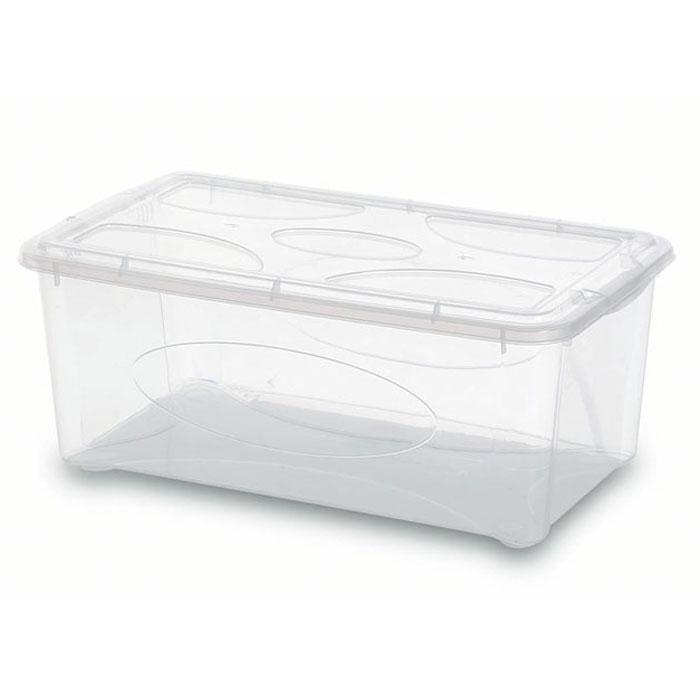 Контейнер Gensini с крышкой, универсальный, 10 л контейнер gensini цвет сиреневый 10 л
