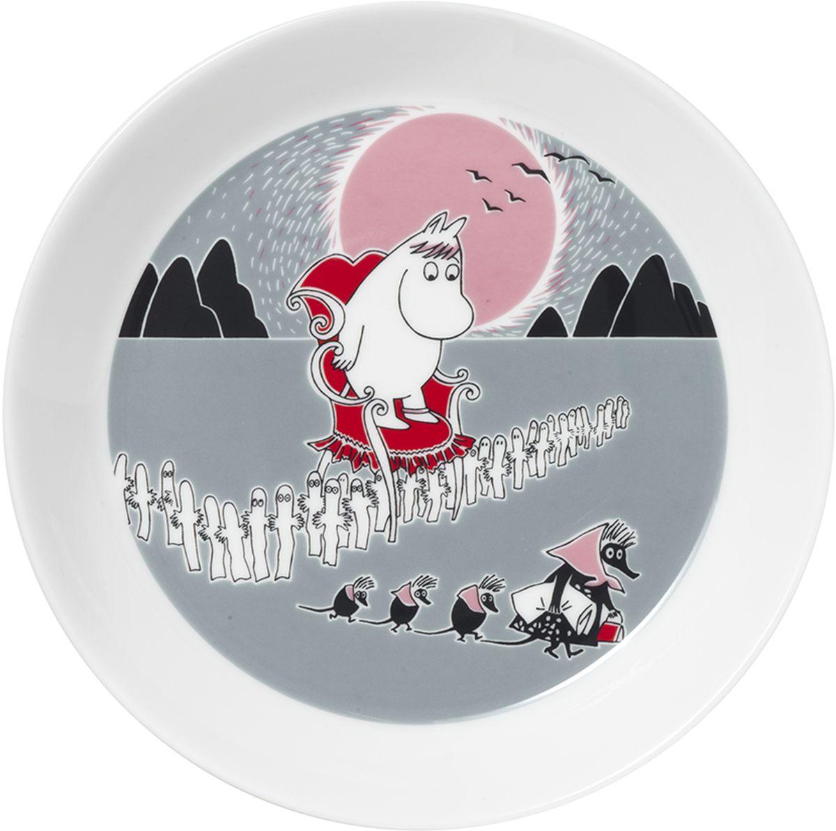 Тарелка Arabia Finland Приключение, диаметр 19 см грэхем лесли маккэлэм декоративные орнаменты и мотивы