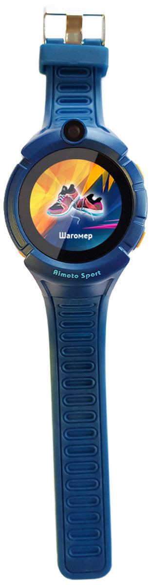 Умные часы Кнопка Жизни Aimoto Sport, синий