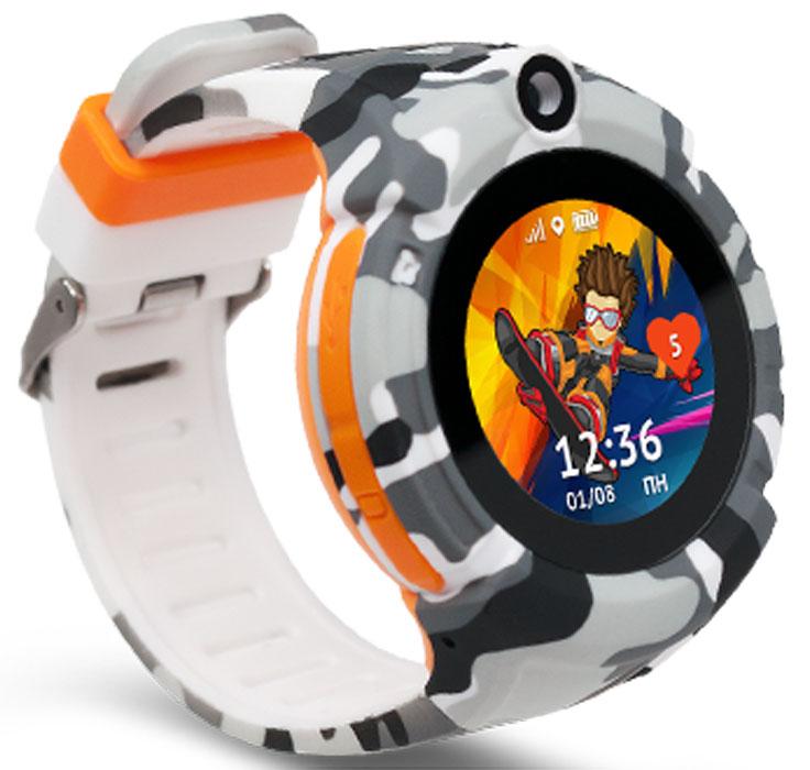 Умные часы Кнопка Жизни Aimoto Sport, хаки