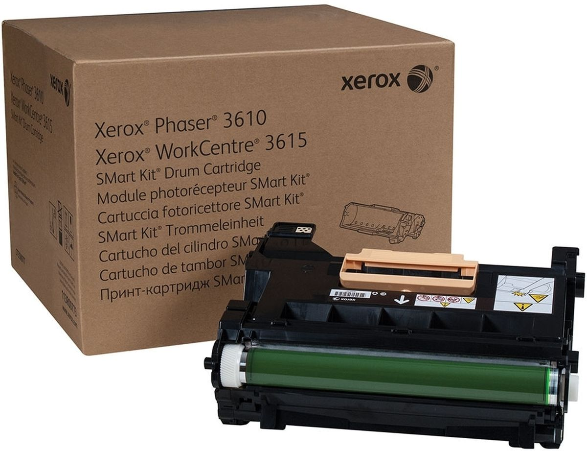 Xerox 113R00773, Black фотобарабан для Xerox Phaser 3610/WorkCentre 3615 печатный модуль xerox workcentre 7200i 7200iv s dadf oct