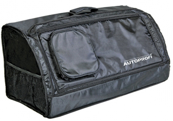 Органайзер автомобильный Autoprofi органайзер в багажник travel org 35 bk 70х32х30см брезент прозрачный клапан чёрный