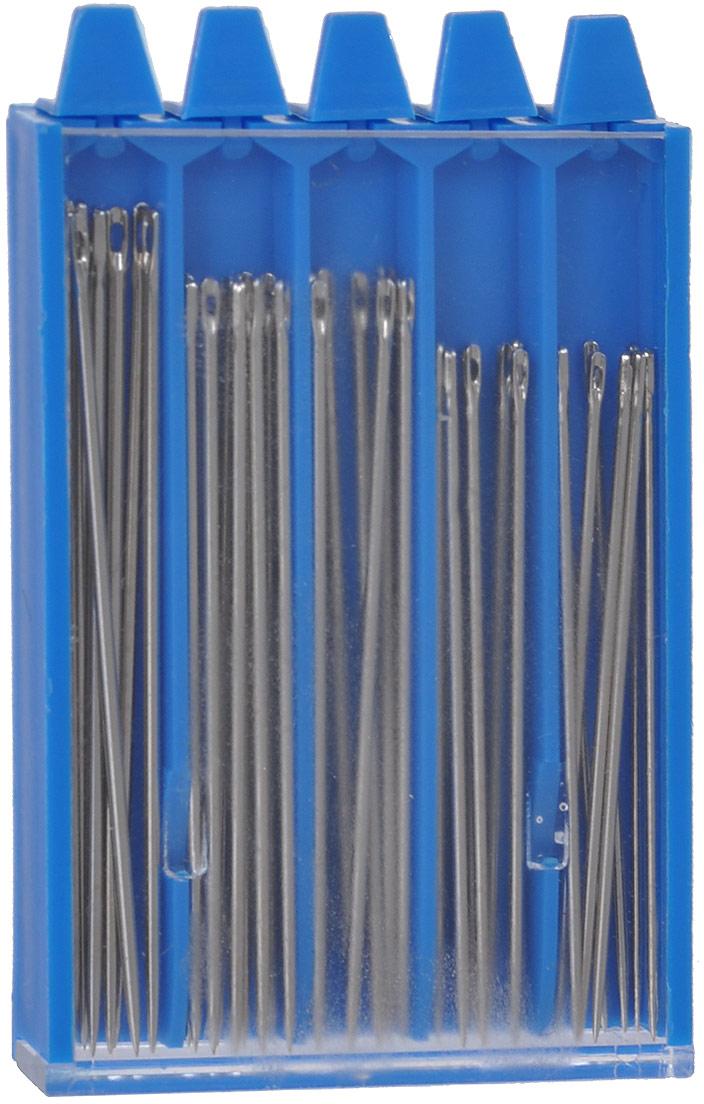 Набор ручных игл Prym для шитья, 40 шт. 68111014 набор игл ручных prym для шитья 1 5 16 шт