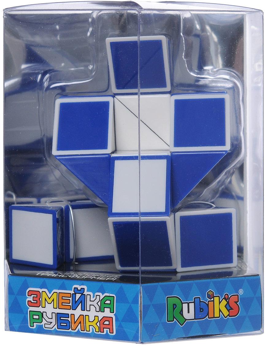 Змейка Rubik's Twist, цвет: синий, белый freywille тонкая цепочка змейка