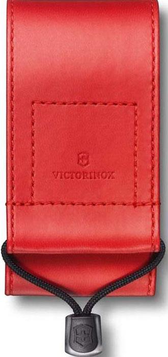 Чехол на ремень Victorinox для ножей 91 мм и 93 мм толщиной 5-8 уровней, из кожзаменителя, цвет: красный