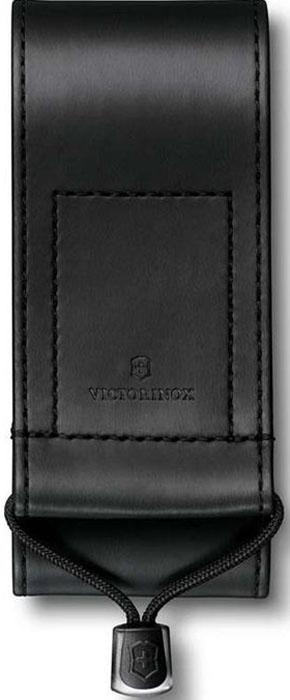 Чехол на ремень Victorinox для ножей 111 мм толщиной 3 уровня и SwissTool, из кожзаменителя, цвет: черный