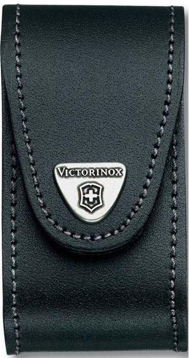 """Чехол на ремень """"Victorinox"""" для ножей 91 мм толщиной 5-8 уровней, кожаный, цвет: черный"""