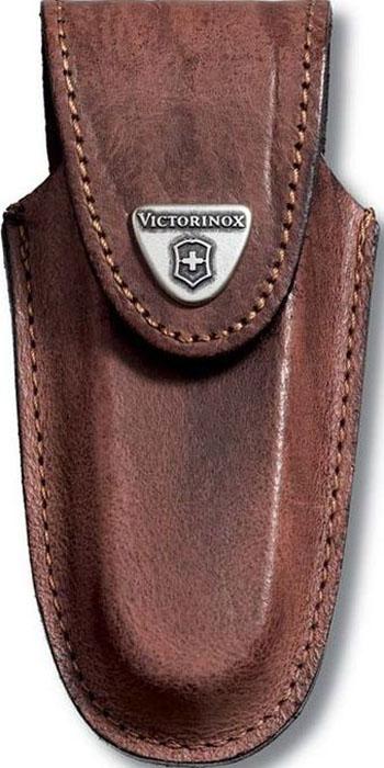 """Чехол на ремень """"Victorinox"""" для ножей 111 мм толщиной 5-8 уровней, кожаный, цвет: коричневый"""