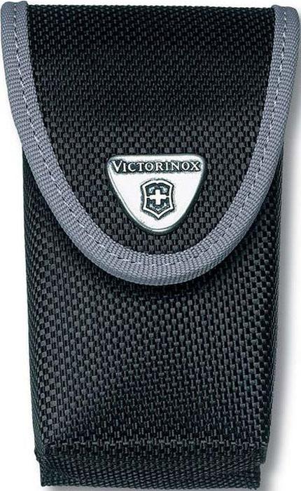 Чехол на ремень Victorinox для ножей 111 мм 4-6 уровней, с отделением под фонарь, нейлоновый, цвет: черный